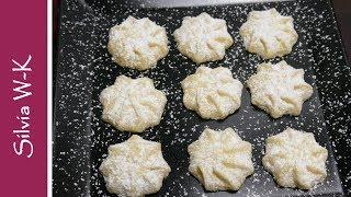 Schneeflöckchen / Weihnachtplätzchen / toller Geschmack / einfach und schnell gemacht