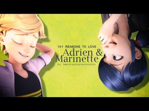 101 reasons to love Adrien & Marinette (Season 1)