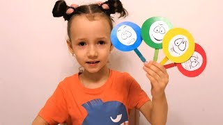 UT kids Learn Colors with Smiley Emoji