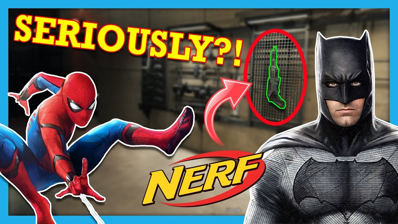Top 20 Times Nerf Guns were Used in Movies (and more)!