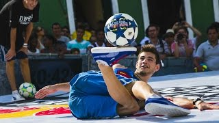 Freestyle Football Battles in Brazil  - Red Bull Street Style 2014