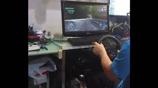 G29 Test drive on Initial D7 AAX PC.ver