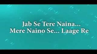 Jab se Tere Naina, Karaoke.flv