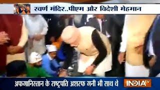 A Heart Winning Gesture: PM Modi Serves Langar at Golden Temple