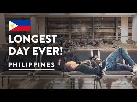 STRANDED IN MANILA AIRPORT 😞   Philippines Travel Vlog 111, 2018   Flight to Taipei Taiwan