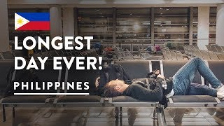 STRANDED IN MANILA AIRPORT 😞 | Philippines Travel Vlog 111, 2018 | Flight to Taipei Taiwan