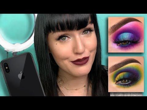 How I take close up eye photo/edit on my phone!