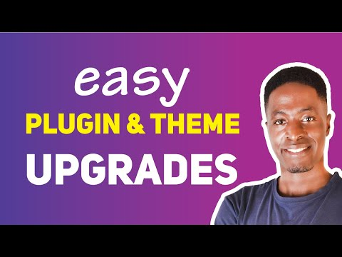 How to EASILY UPGRADE YOUR PLUGINS AND THEMES in WordPress - 동영상