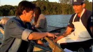 Pescador conta como foi pegar carpa gigante na Represa Billings SP