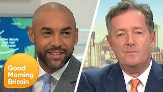 Which GMB Hunk Do You Prefer Piers Morgan or Alex Beresford Good Morning Britain