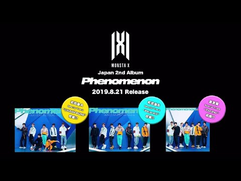 Download MONSTA X Japan 2nd Album「Phenomenon」ダイジェスト映像 Mp4 baru