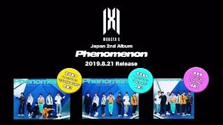 Gambar cover MONSTA X Japan 2nd Album「Phenomenon」ダイジェスト映像