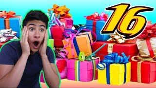 SURPRISING BROTHER with Dream Gifts for his 16th BIRTHDAY!!!