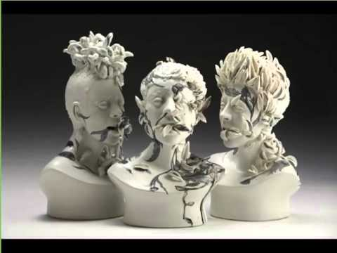 Handmade Famous Contemporary Ceramic Artists | Colorful Ceramic Picture Set And Decoration Ideas