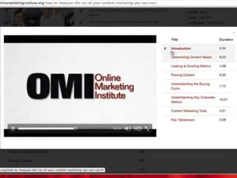 Online Marketing Institute - Online Learning Center for Inte