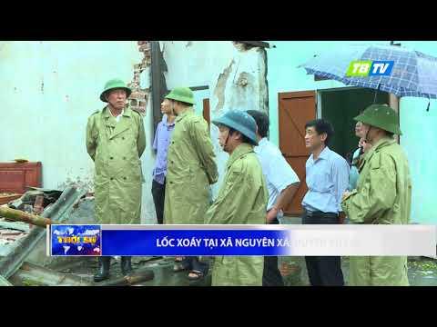TIN NÓNG - Lốc xoáy tại Thái Bình làm sập nhà và 4 người bị thương - Thái Bình TV