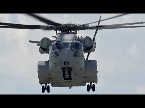 Sikorsky CH-53K King Stallion US Marine Corps USMC flying Display ILA 2018 Berlin AirShow