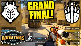 EPIC GRAND FINAL!! G2 VŠ BIG - DreamHack Masters Spring 2020 BEST MOMENTS - CSGO Highlights
