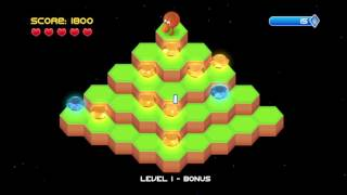 Qbert Rebooted PS4 Gameplay