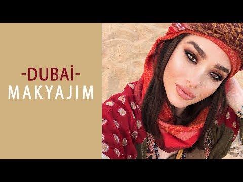 Dubai Temalı Makyaj