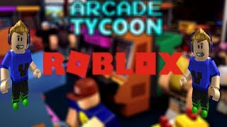 Building Our Own Arcade | Roblox Arcade Tycoon