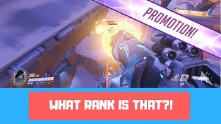 WHAT RANK IS THAT?! - Overwatch Ranked Season 11 Gamplay