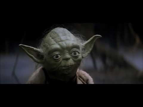 Yoda Explains the Force to Luke - from Empire Strikes Back