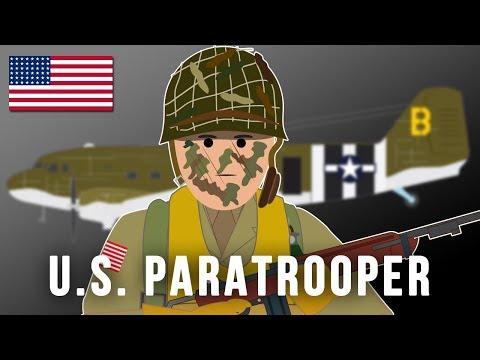 US Paratrooper World War II