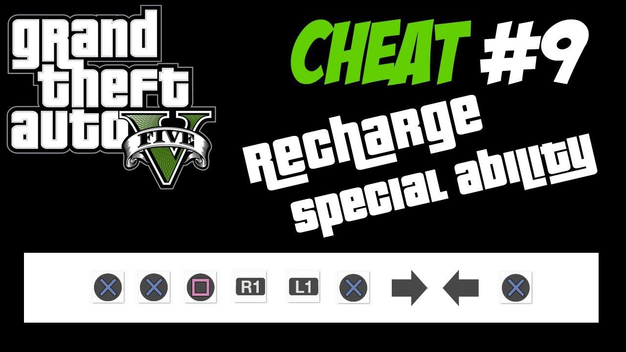 Gta 5 Trucchi 9 Ricarica Abilita Speciale Ps3 Xbox