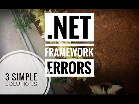 How To Fix  .net Framework Errors In Windows 10 (3 Possible Fixes)