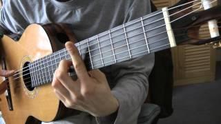 Cours de guitare - The POLICE : Roxanne (1/3) Démo + Grille A (empreinte sans basse)