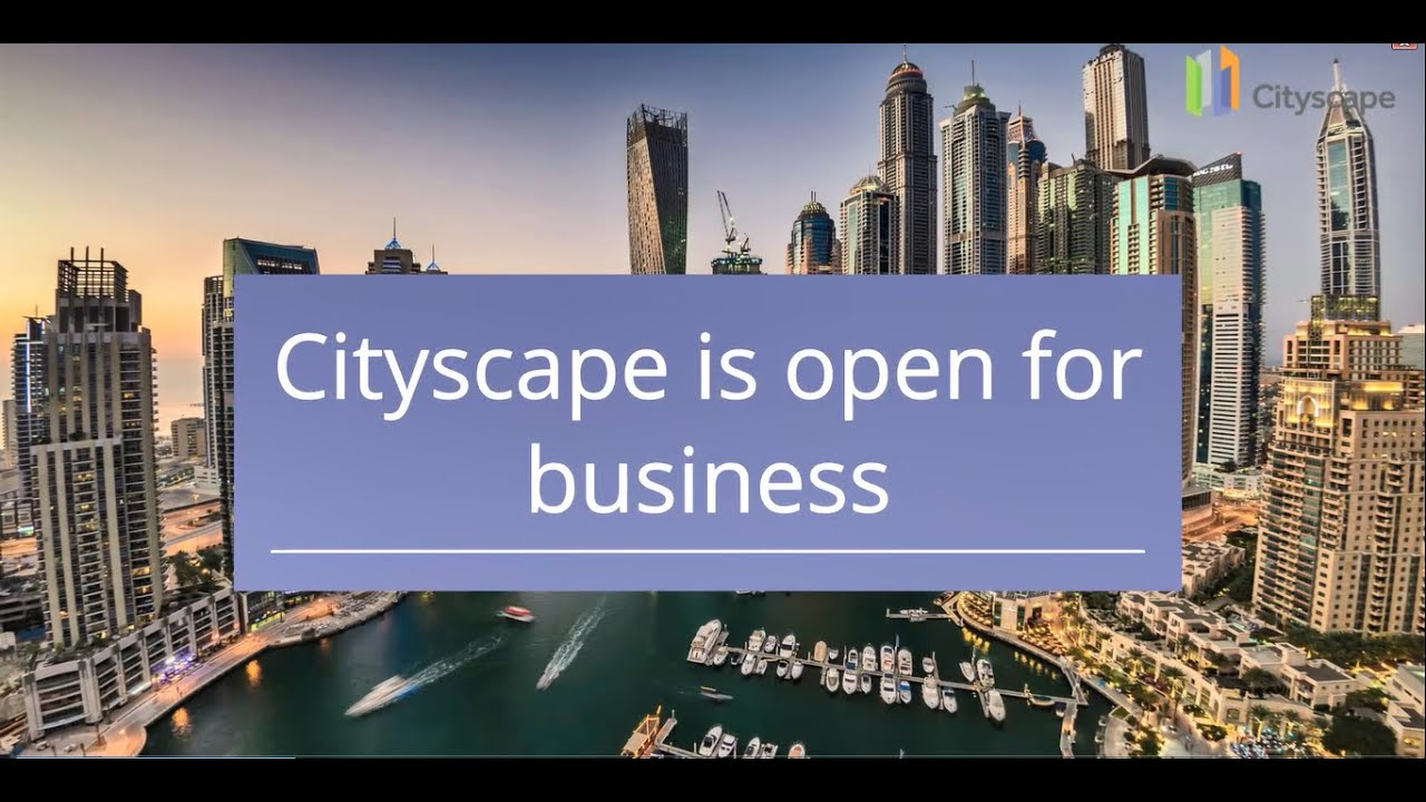 Cse Nov 2021 Cityscape Dubai Uae Trade Show