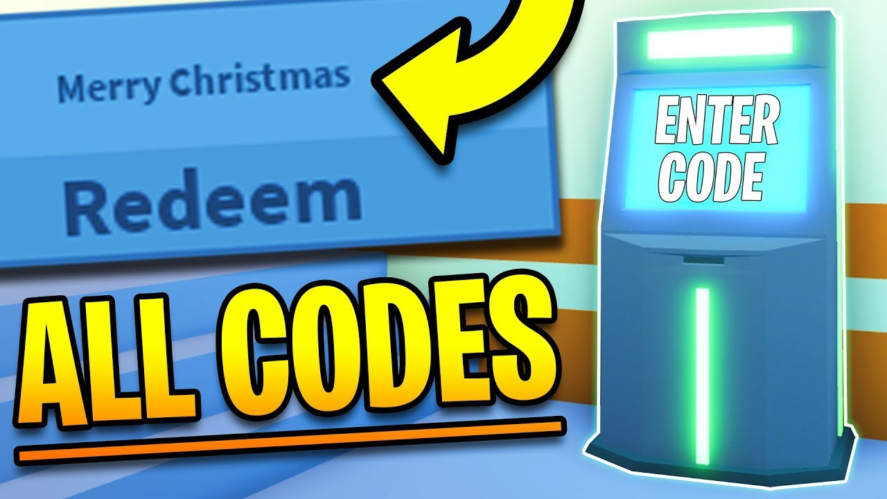 ALL CODES in Roblox Jailbreak! NEW TWITTER PROMO CODES ...