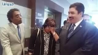 بالفيديو:  وزيرة الثقافة ومحافظ القليوبية يفتتحان ملتقى شباب الجامعات الأول بالقناطر