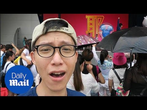 Not that magical? YouTuber shows drawbacks of Disney Shanghai - Daily Mail