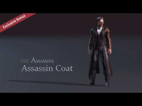 Physics-enabled Assassin Coat for Unreal, Unity, & iClone