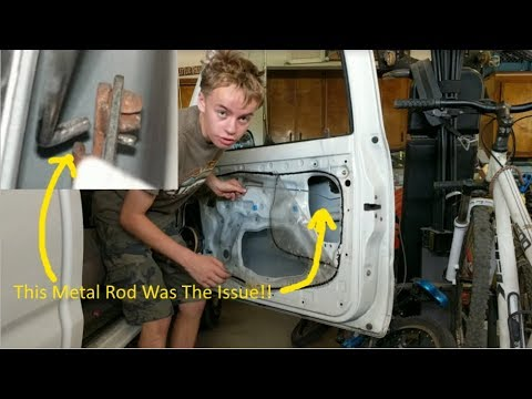 How To Repair A Broken Inside Door Handle Toyota Tacoma 1997 Youtube