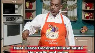 Mackerel Rundown - Grace Foods Creative Cooking Traditional Jamaican Dishes