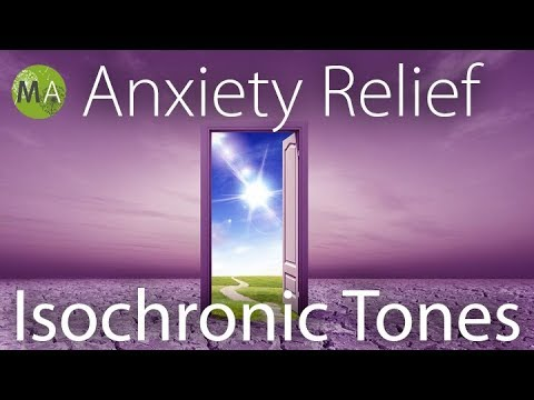 Anxiety Relief Music with Pure Isochronic Tones in Alpha/Beta