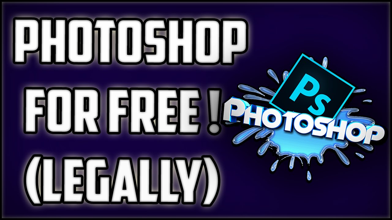 How To Get Photoshop For FREE! Download Photoshop Legally !!2016 (Easy Tutorial) - YouTube