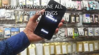 Factory reset protection FRP bypass on galaxy j7 without root and OTG step by step