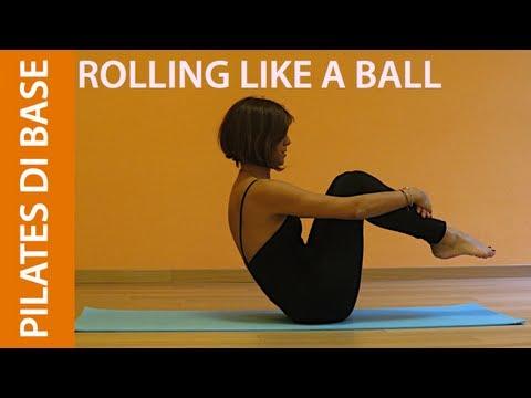 Pilates Esercizi di Base Rolling Like a Ball