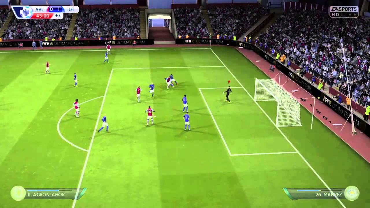 Aston Villa Vs Leicester City - YouTube
