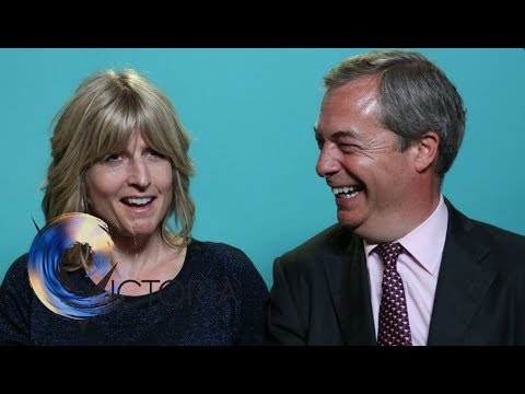 Election blind dates: Nigel Farage and Rachel  Johnson - BBC News