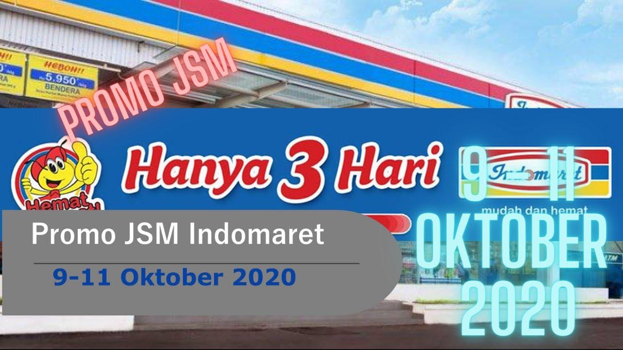 Promo Jsm Indomaret 9 11 Oktober 2020 Hanya 3 Hari Youtube