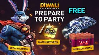 Free Fire New Event Diwali celebreation in telugu ॥MAHI GAME ZONE