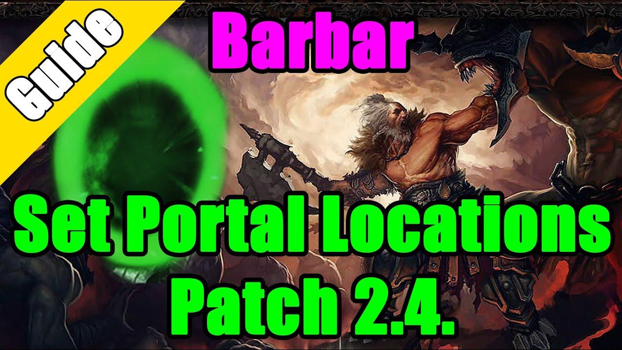diablo 3 set portale finden