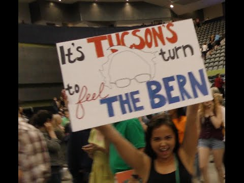 WATCH: Bernie Sanders rally Tucson