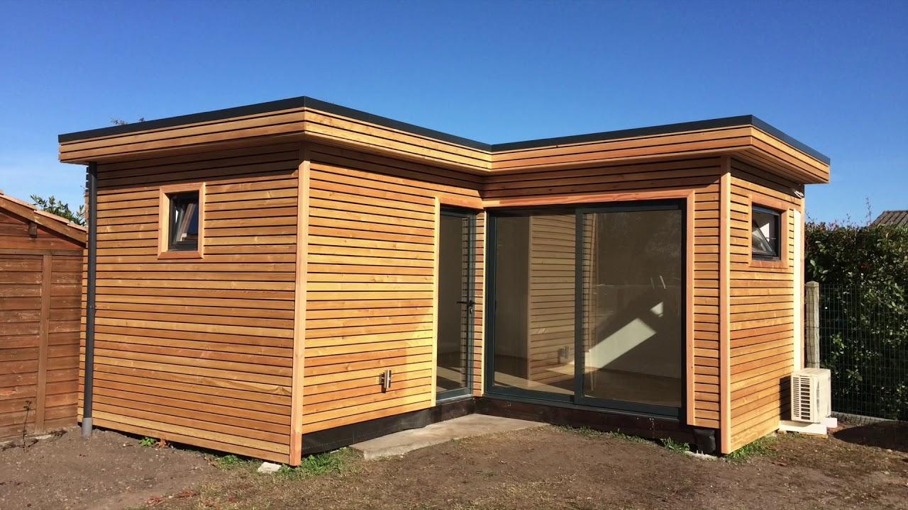 Studio de jardin bureau de jardin extension bois davinci loft