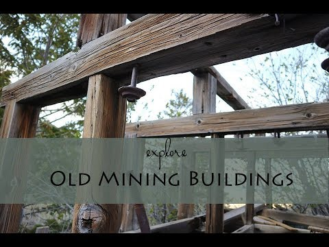 Long Gone Mining Buildings